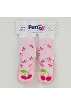 Funny 2516 Bebek Çarık Çorap