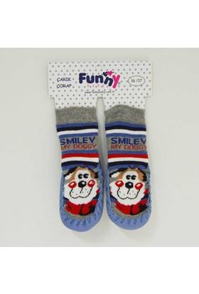 Funny 2508 Bebek Çarık Çorap