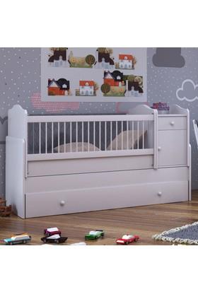 Babi Baby Eko Bera Bebek Odası Büyüyen Beşik 80x180