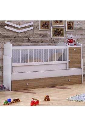 Babi Baby Eko Arya Bebek Odası Büyüyen Beşik 80x180