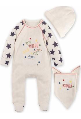 İdil Baby 8942 3'lü Bebek Tulum