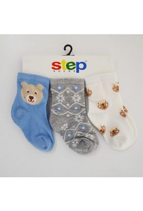 Step 1839 3lü Soket Çorap