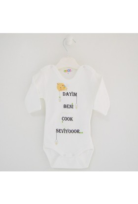 Sebi Bebe 5904 Baskılı Bebek Body