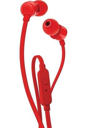 JBL T110 Kırmızı Kablolu Kulak İçi Kulaklık