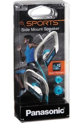 Panasonic RP-HS200E-A Mavi Kablolu Kulak İçi Spor Kulaklığı