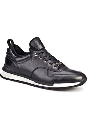 Cabani The Calabria Günlük Erkek Ayakkabı Siyah Deri