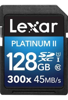 Lexar 128GB 300X Premium II SDXC Hafıza Kartı Class10 U1 45MB/sn (LSD128GBBEU300)