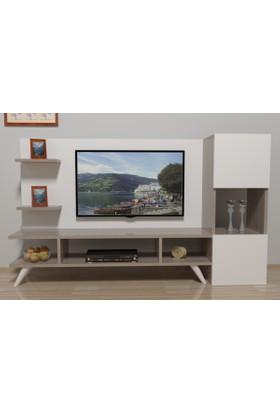 Fkr61 Tv Ünitesi 150cm Cordoba-Beyaz