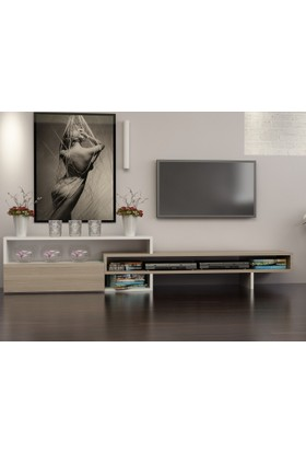 Givayo Gavino Tv Ünitesi 190 cm Cordoba-Beyaz