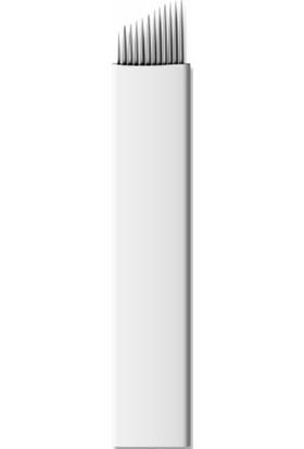 Ymr Microblading İğnesi 12 Pın Beyaz 5 Adet