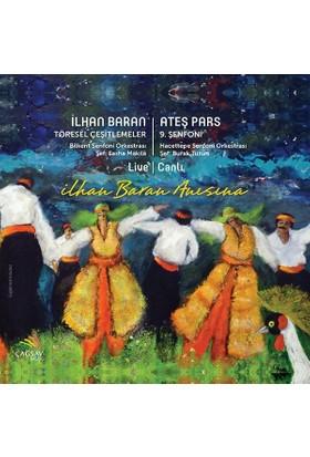 Burak Tüzün, Sasha Makila - İlhan Baran: Töresel Çeşitlemeler / Ateş Pars: 9. Senfoni CD