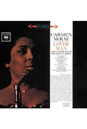 Carmen Mcrae - Carmen Mcrae Sıngs Lover Man And Other Billie Holiday CD