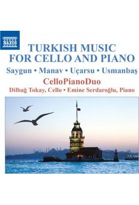 Saygun Manav Uçarsu Usmanbaş - Turkish Music for Cello and Piano CD