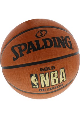 Spalding Nba Gold Outdoor Basketbol Topu