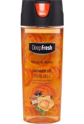 Deepfresh Duş Jeli Pratik Kapaklı 300 Ml Oud & Rose