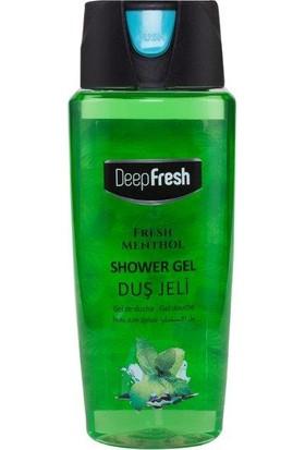 Deepfresh Duş Jeli Pratik Kapaklı 500 Ml Fresh Mentol