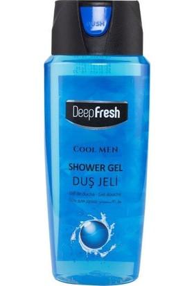 Deepfresh Duş Jeli Pratik Kapaklı 500 Ml Cool Men
