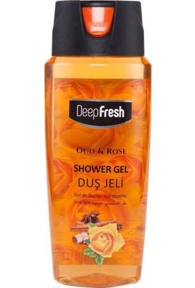 Deepfresh Duş Jeli Pratik Kapaklı 500 Ml Oud & Rose