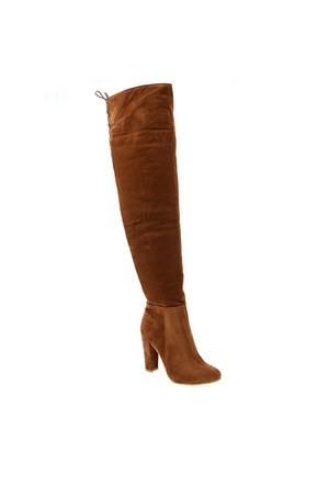 Derigo Taba Süet Kadın Çizme 241806