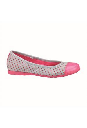 Pink Step Genna Mavi Kız Çocuk Babet