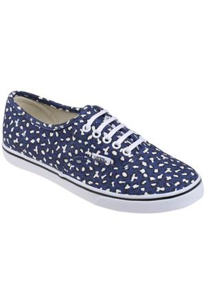 Vans Authentıc Lo Pro Mavi Beyaz Kadın Sneaker