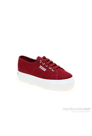 Superga Cotw Linea Up And Down Kadın Ayakkabı Bordo