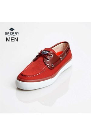 Sperry Sts13138 Sperry Bahama 2-Eye Ballistic Red