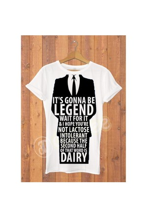 Dyetee Gonna Be Legend Erkek T-Shirt