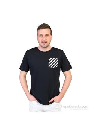 Familylook Rose And Stripe Family Erkek T-Shirt
