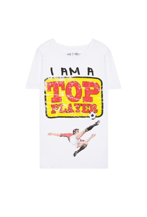 My T-Shirt Top Player T-Shirt