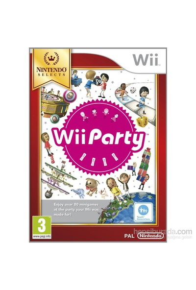 Wii Party Nintendo Wii Oyun