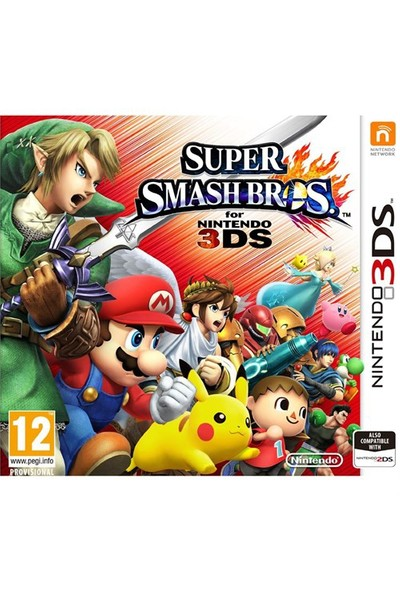 Nintendo Super Smash Bros 3Ds Oyun