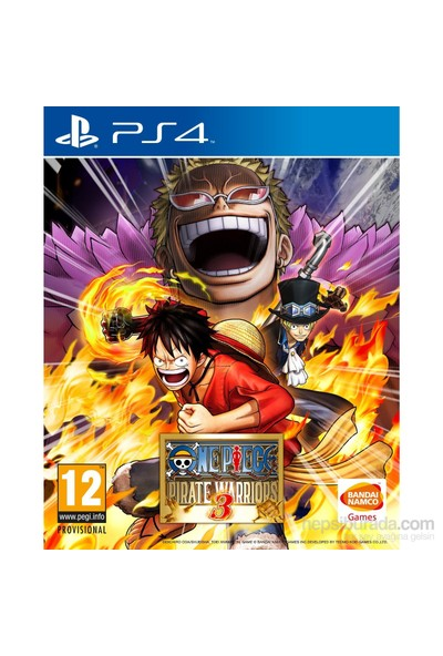 One Piece Pirate Warriors 3 PS4 Oyun