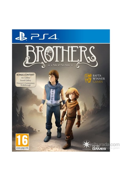 Brothers A Tale of Two Sons PS4 Oyun