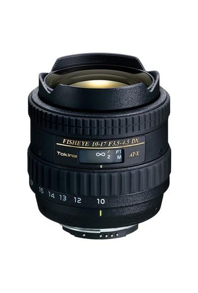 Tokina 10-17mm F3.5-4.5 AT-X DX Fisheye Objektif Canon Uyumlu
