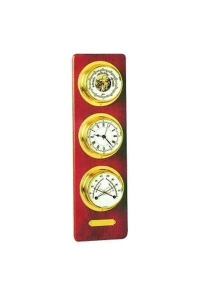 Barigo 3´Lü Set. Barometre, Saat, Termometre, Higrometre.