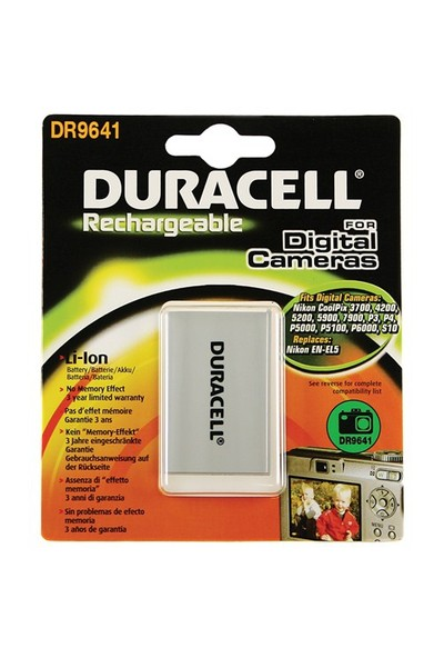 Duracell DR9641 Nikon EN-EL5 Dijital Kamera Pili