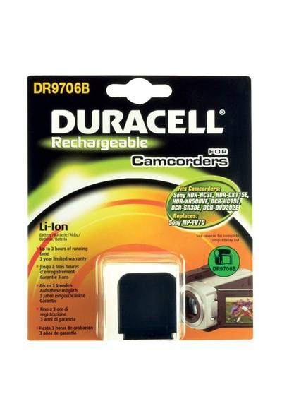Duracell DR9706B Sony NP-FV70 Kamera Pili