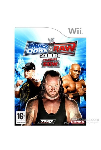 Thq Wii Wwe Smackdown Vs Raw 2008