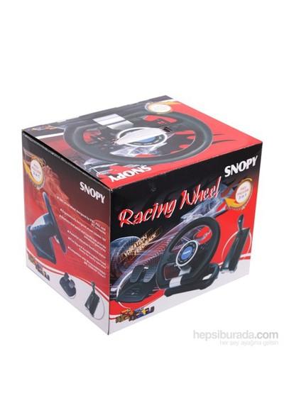 Snopy V20 PC/PS2/PS3 Titreşimli 3 in 1 Direksiyon