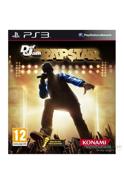 Konami Ps3 Defjam Rapstar