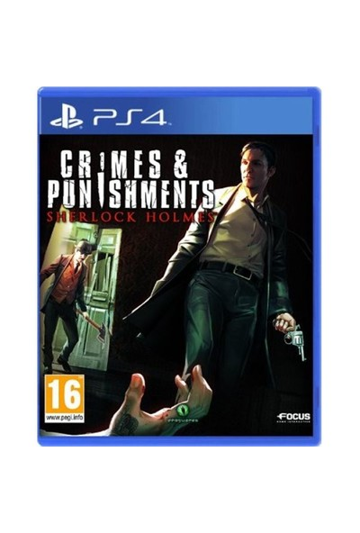 Crimes And Punishments Sherlock Holmes Ps4