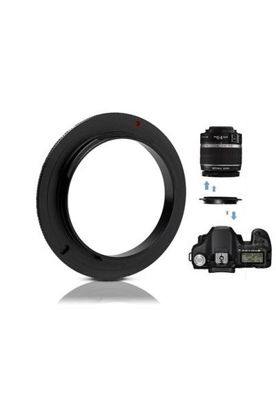 Canon 52Mm Macro Makro Ters Lens Objektif Adaptörü Reverse Ring