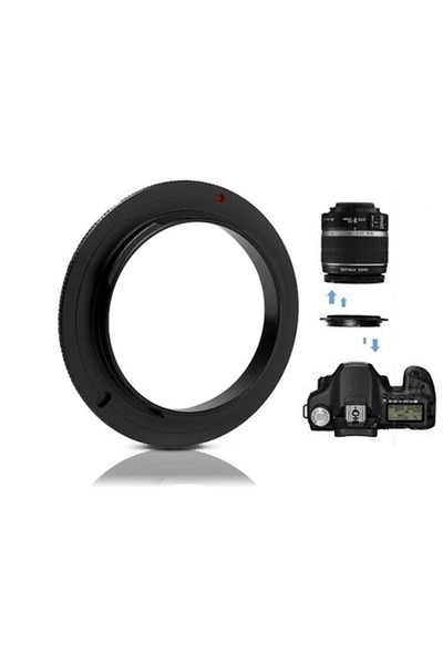 Canon 18-55Mm Lens İçin Macro Makro Ters Lens Objektif Adaptörü