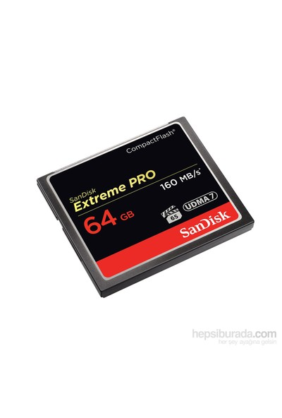 Sandisk 64 Gb Cf Extreme Pro 160Mb/S (SDCFXPS-064G-X46)