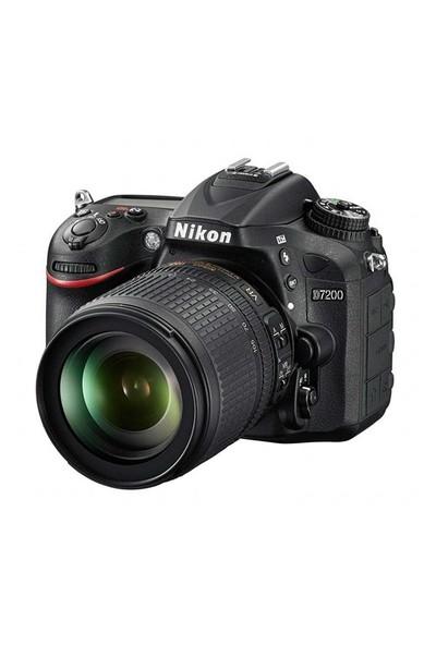 Nikon D7200 18-105mm VR Lens Kit SLR Dijital Fotoğraf Makinesi