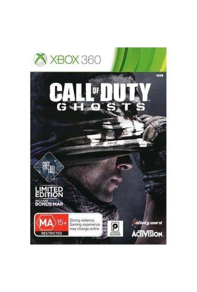 Activision Call Of Duty Ghost Limited Edition Xbox 360 Oyun