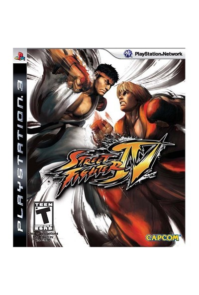 Capcom Street Fıghter Iv Ps3 Oyun