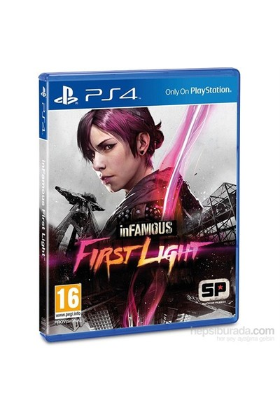 İnfamous First Light Ps4 Oyunu Pal 2 Türkçe