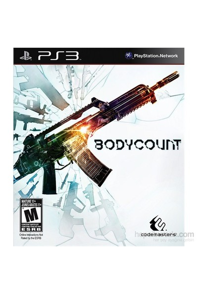 Bodycount Ps3 Oyun